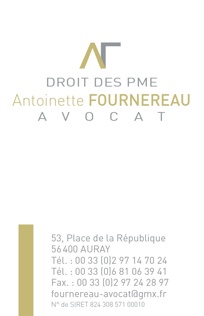 FOURNEREAU Antoinette – Avocate